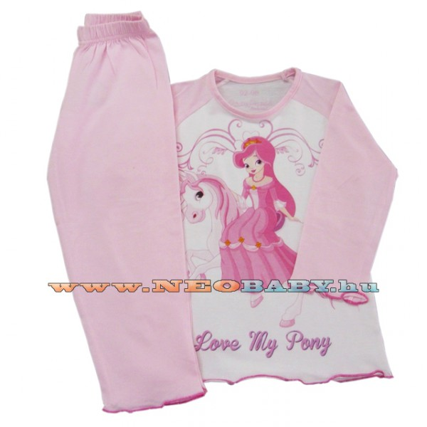 Pampress pizsama lány hu (92-98) 7726  lovas f462189ba0