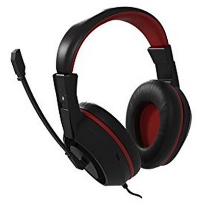 Fejhallgató Játék Mikrofonnal Tacens MAH0+ 32  15mW Ultra Bass Fekete Piros 451b200238