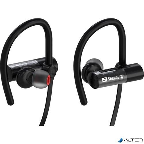 Fülhallgató Sandberg vezeték nélküli fekete bluetooth 10b6593664