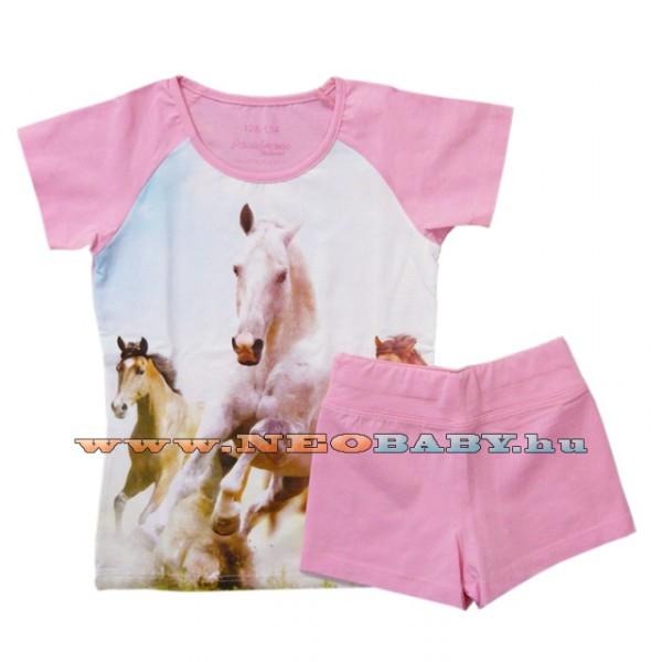 Pampress pizsama lány ru (128-134) 8365 - lovas 4d2ed6d024