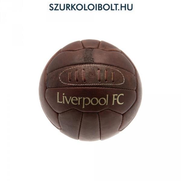 Liverpool labda - normál (5-ös méretű) Liverpool címeres szurkolói retro  bőr focilabda e068a1e824