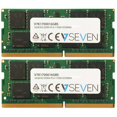 006d6f73ee2d V7 16GB (2x8GB KIT) DDR4 PC4 17000 - 2133MHz SO DIMM Notebook Memory Module  - V7K1700016GBS