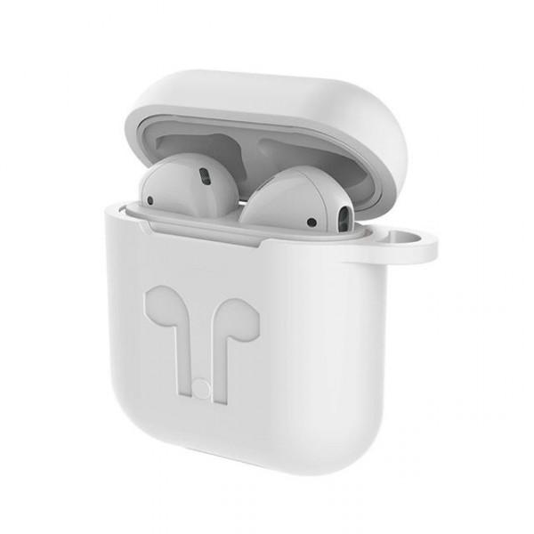 Szilikon tok és zsinór fülhallgatóhoz Apple AirPods MMEF2ZM A fce6e79256