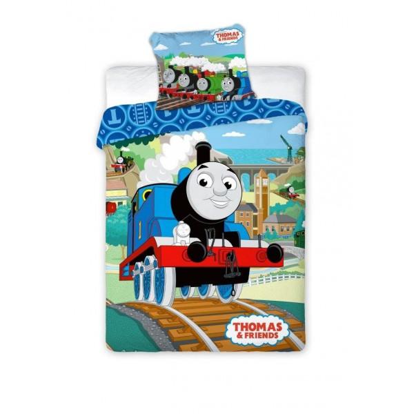 Thomas a gőzmozdony Disney pamut-vászon 100x135 cm ovis ágyneműhuzat 343ac19e7d