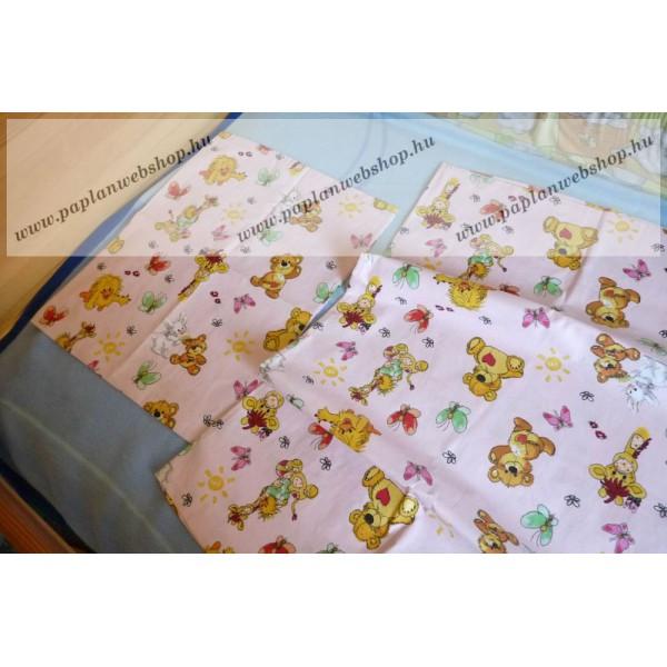 Macis-zsiráfos baba ágyneműhuzat (90x130 + 40x50 cm) - Naturtex 859cd8e7a7