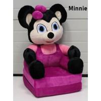 Mickey & Minnie plüss gyerekfotel - fotelágy