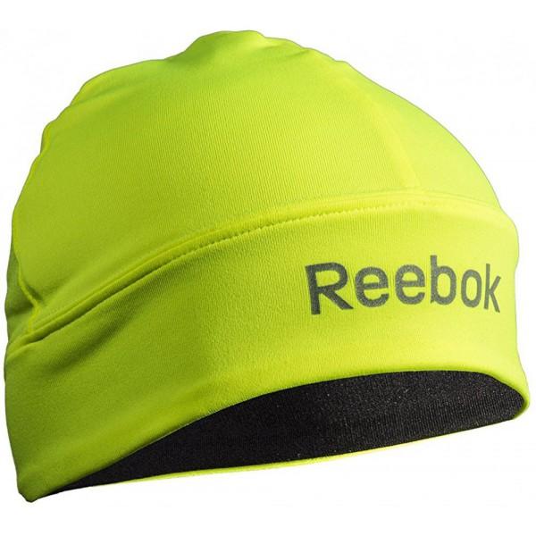 Reebok Neonzöld   Fekete elasztikus kifordítható futósapka b3742f8515