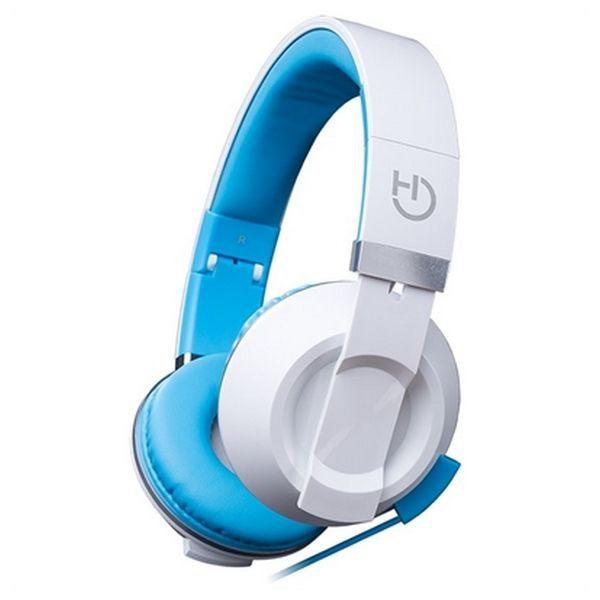 Hiditec Fejhallgató Mikrofonnal COOL KIDS WHP010005 Kék a5660eb4e9