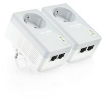 TP-Link AV500 2 db LAN csatlakozós konnektoraljzattal elátott áramköri jeltovábbító TL-PA4020P KIT