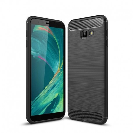 Samsung Galaxy J4 Plus (2018) Forcell CARBON szilikon telefontok (hátlap) 95e44a4e15