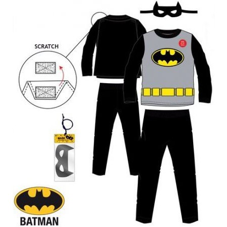 Batman gyerek hosszú pizsama vagy farsangi jelmez 58bfa759a4