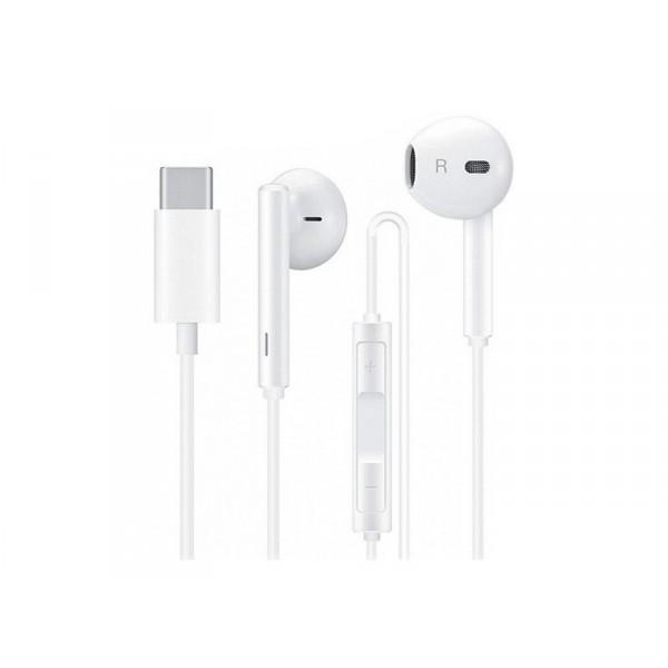 Huawei CM33 USB-C mikrofonos fülhallgató (fehér) 0b11a36bae