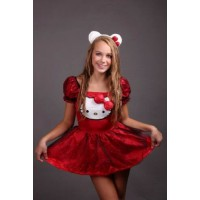 Hello Kitty ruha (164-ES MÉRET, L) - 881658