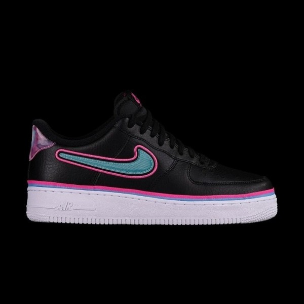 e02a17a82e2 Nike Air Force 1 Low  07 LV8 NBA Miami Heat South Beach · »