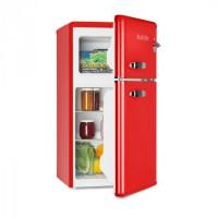 Klarstein Irene, retró hűtőszekrény fagyasztóval, 61 l hűtő, 24 l fagyasztó