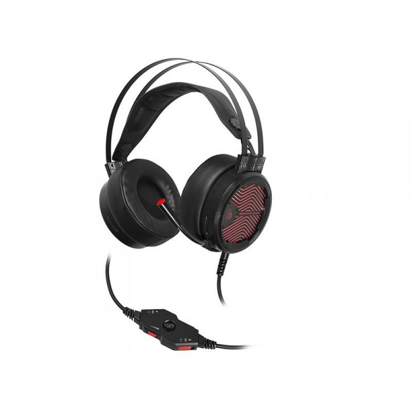 Gaming fejhallgató A4TECH BLOODY M620T 7.1 Varázslatok   piros USB c6ebc1b375