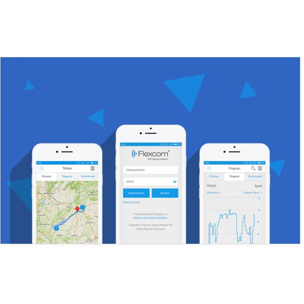 FLEXCOM NYOMKÖVETŐ GPS SZOFTVER ANDROID és IPHONE 64a64e0b48