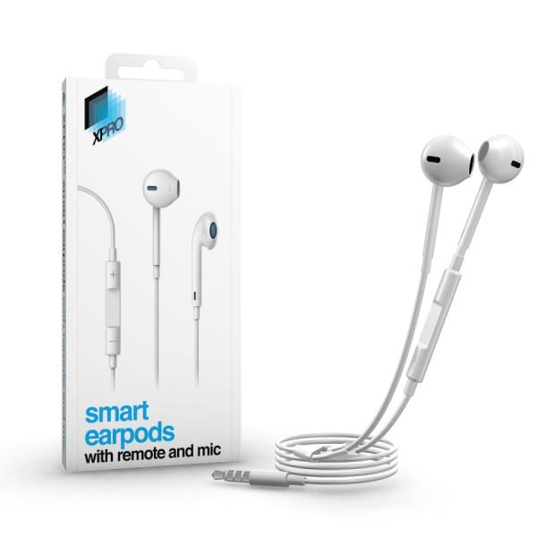 xPRO Smart Earpods - iPhone fülhallgató távvezérlővel és mikrofonnal 50bee5c50d