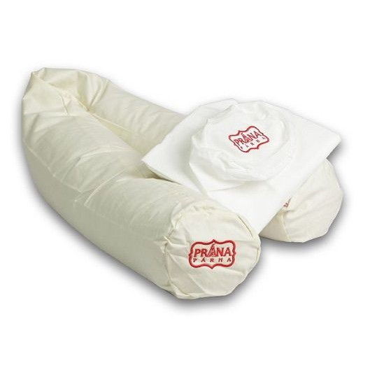 Prána párna Premium Köleshéj párna bébi henger 100x10 cm (újszülöttnek) 081a28618c