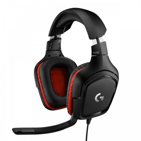 Logitech Gaming Headset G332 Symmetra - Black Red - 3.5 MM 07a73de830