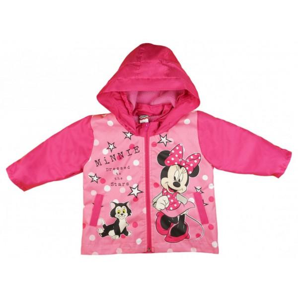 4d0e27fbe5 Disney Minnie vízlepergetős polár béléses átmeneti kabát (méret: 74-116)  *isk