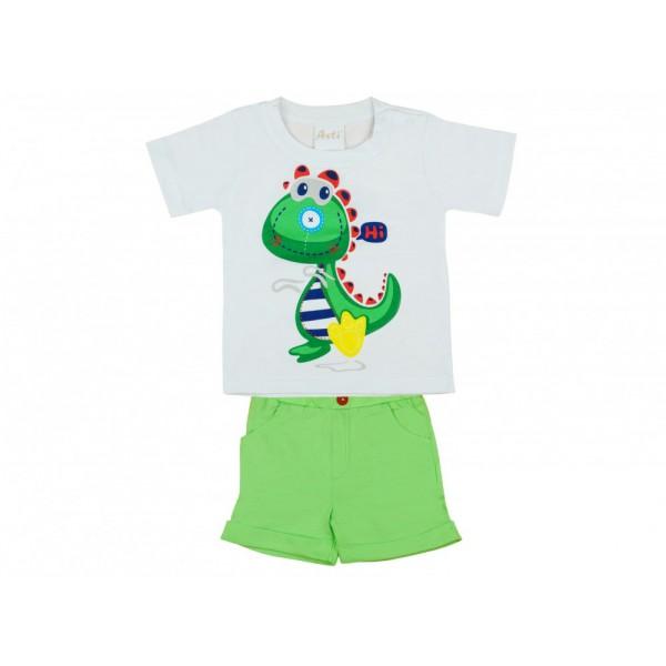 Sárkány mintás fiú 2 részes póló bermuda szett ef70e7d22f