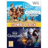 The Croods: Prehistoric Party + Rise of the Guardians (Combo Pack) - Wii