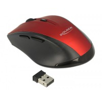 DeLock Ergonomic optical 5-button mouse 2.4 GHz wireless (12493)