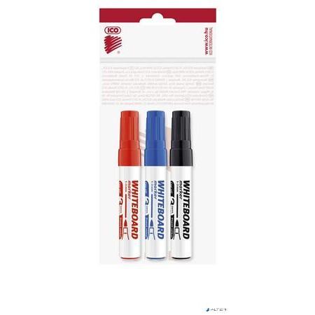 2b058760e96e Tábla- és flipchart marker készlet, 1-3 mm, kúpos, ICO