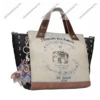 Anekke India női táska két füllel, 41/27x14x25,5 cm (28871-41)