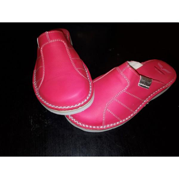 8590d7138190 Old Style női marhabőr papucs pink /Alföldi Papucs jellegű/ 37-39 KIFUTÓ