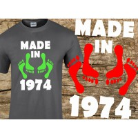 (SZ) Made in... - születésnapi póló