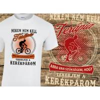 (SH) Nekem nem kell terápia...kerékpárom - kerékpáros póló