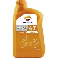REPSOL Moto Town 4T 20w50 1 Literes Motorkerékpárolaj