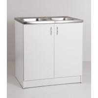 Mosogatós szekrény fehér - egyedi konyha bútor