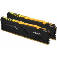 Kingston 32GB DDR4 2666MHz Kit(2x16GB) HyperX Fury RGB Series HX426C16FB3AK2/32