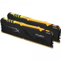 Kingston 32GB DDR4 3000MHz Kit(2x16GB) HyperX Fury RGB Series HX430C15FB3AK2/32