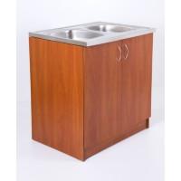 Mosogatós szekrény cseresznye - egyedi konyha bútor
