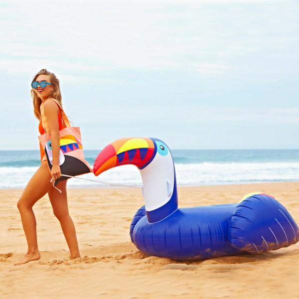 Felfújható Beach Mat Fesztivál Kemping Szabadidős Alvó
