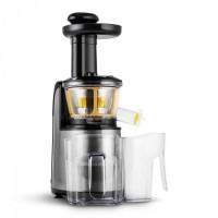 Klarstein Fruitpresso Nero II, gyümölcsprés, lassú prés, 150 W, 80 ford./perc, rozsdamentes acél