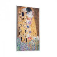 Klarstein Wonderwall Air Art Kiss, infravörös melegítő, 60 x 101 cm, 600 W, falra szerelhető