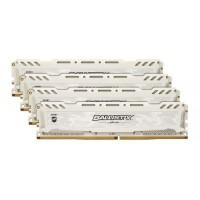 Crucial BLS4K16G4D240FSC 64GB /2400 Ballistix Sport LT White DDR4 RAM KIT (4x16GB)
