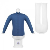 Klarstein Shirtbutler Deluxe, automata szárító- és vasalógép ingre, 1250 W