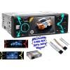 MAC 9900 USB/SD MP3 MP4 MP5 Bluetooth Multimédiás autórádió LCD monitorral