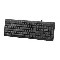 Gembird compact multimedia keyboard KB-UM-106, USB, RU layout