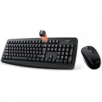 Genius Smart KM-8100 wireless combo billentyűzet + egér Black HU (31340004404)