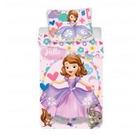 Sofia hello Princess 2 részes Disney pamut-vászon gyerek ágynemű