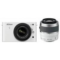 Nikon 1 J2 fényképezőgép kit (10-30mm és 30-110mm objektívvel)