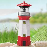 Kerti napelemes világítótorony lámpa 28 cm