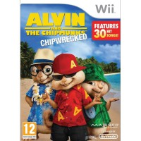 Alvin and the Chipmunks: Chipwrecked - Wii